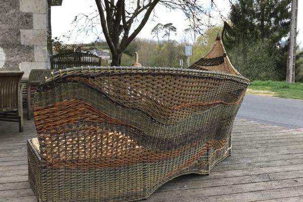 Création de vanneries sur mesure près d'Azay-le-Rideau